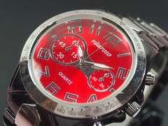 【最後の1点/送無】日本製VITAROSOメンズ腕時計メタル