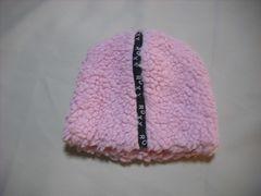 wb61 ROXY ロキシー フリース帽 極厚 ピンク