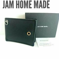 正規 jam home made レザー 財布 ウォレット 黒 ブラック 箱付き