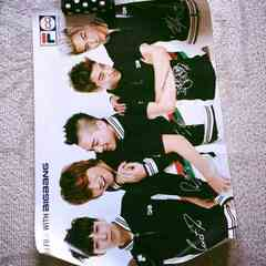 BIGBANG Filaサインポスター☆レア 写真 ジヨンベタプテソスン