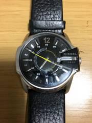 ディーゼル ビッグフェイス腕時計 DZ-1295 稼働品