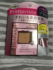 プリマヴィスタきれいな素肌質感パウダーファンデ限定セットOC05