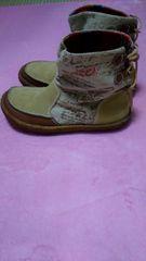 美品  インディアン ブーツ25�p