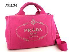 ■プラダ PRADA カナパ ハンドバッグ トートバッグピンク e344