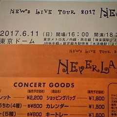 NEWS LIVE Tour NEVERLAND 6/11 2連
