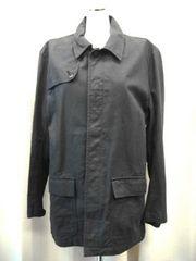 【m.c.apache】【男性用】黒デニムジャケットコート