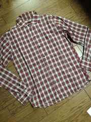 美品SIMPLICITE PLUS 丸襟チェックシャツ 日本製 ジャーナル