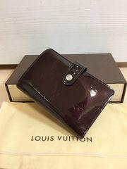 1円 ◆正規品◆ 美品 ルイヴィトン ヴェルニ アマラント 財布