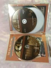ザ ローリングストーンズ CD2枚  DVD2枚 計4枚組