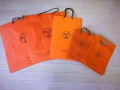 エルメス 紙袋5枚ショッパー