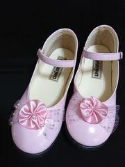 新品同様!19�p♪女の子用フォーマル靴♪