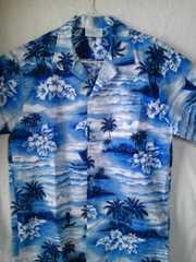 ハワイアンシャツ アロハシャツ メイド イン ハワイ 送料込み