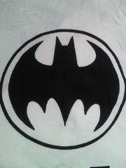 BATMAN バットマン マーク デザイン Tシャツ ホワイト Lサイズ