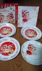 ペコちゃんのお皿4枚   5