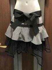 S〜M★フォーエバー21★リボンスカート/チュール付き/Xmas