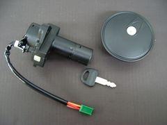 (19)GSX400Eゴキメインキータンクキャップセット