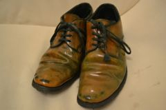 キャロルクリスチャンポエル シリコンラマレザー短靴