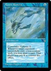 ●MTG ICE Mystic Remora 英語 4枚●
