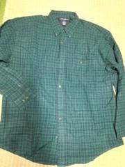 アイビークルー ネルシャツ 3XL位 大きいサイズ