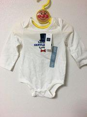 新品タグ baby GAP 白ロンパース サイズ70