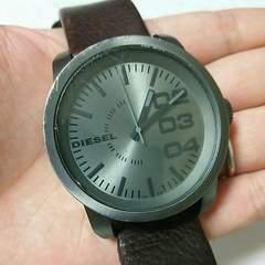 電池交換済み!DIESEL ディーゼル メンズ腕時計 男性用 稼働品