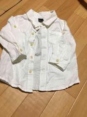 新品同様 白シャツ