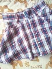 アメリカンぽいスカートパンツ型140