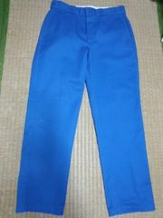ディッキーズ 青パンツ 34