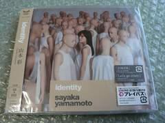 新品/山本彩『identity』初回限定盤【CD+DVD】NMB48他にも出品中