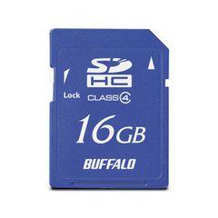 ☆バッファロー SDメモリーカード MB-RSDC-16GC4 [16GB]