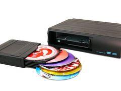 6連奏DVDチェンジャー