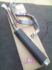 カワサキ ゼファーX BEET チタン/カーボンマフラー 軽量