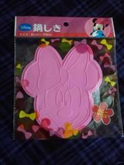 ディズニー ミニ-マウス シリコン 鍋しき
