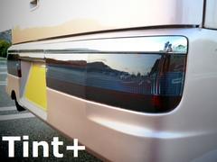 Tint+何度も貼れるアトレーワゴンS320G前期テールランプ スモークフィルム