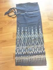 送料無料◎マライカ◎イカットスカート◎エスニックアジアン民族染め織物
