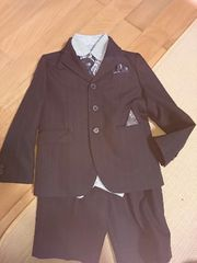 美品 スーツセット120
