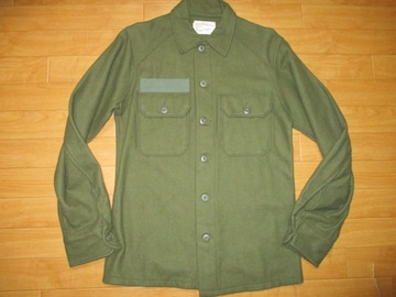 アメリカ軍 US ARMY ウールシャツ USA−S デッドストック