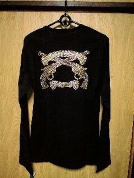 新品Roarロアー エンブレムスワロメタル2丁拳銃装飾ロングスリーブ 2