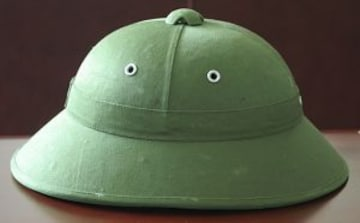 ベトナム軍用実物サンヘルメット