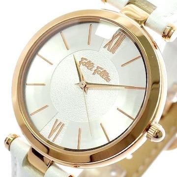 フォリフォリ 腕時計 レディース WF16R010SPS-WH クオーツ