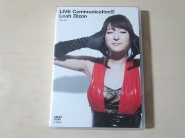 リア・ディゾンDVD「Live Communication!!!」ライブ●