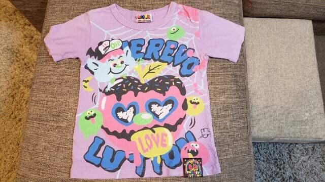 ★ラブレボ★パープル系Tシャツ★サイズ120★男女OK★  < ブランドの