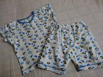 パジャマ☆クジラ☆マリン☆半袖☆サイズ95☆