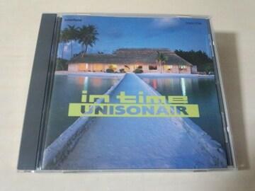 ユニゾネアCD「イン・タイムIN TIME」UNISONAIR 廃盤●