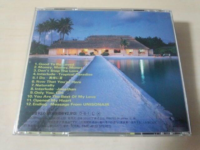 ユニゾネアCD「イン・タイムIN TIME」UNISONAIR 廃盤● < タレントグッズの