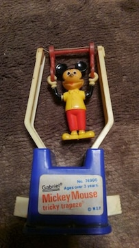 ミッキーマウス TRICKY TRAPEZE  レトロ玩具