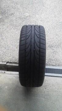 中古品2018年製造 Pinso Tyres 225/40ZR18 バリ溝1本