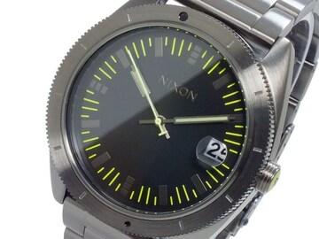 ニクソン 腕時計 A359-632 オール ガンメタル ブラック