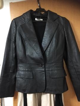 J&R/美品/羊皮ジャケット/ゆうパック送料込み