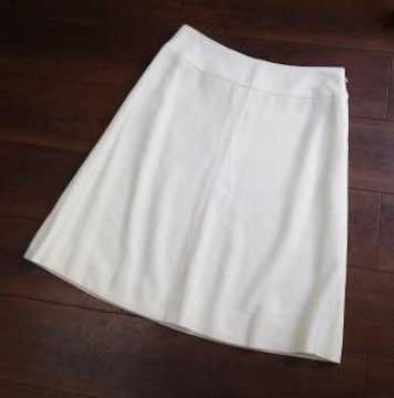 ◆VALENTINO/上品 ミモレ丈 台形型 スカート/サイズ6
